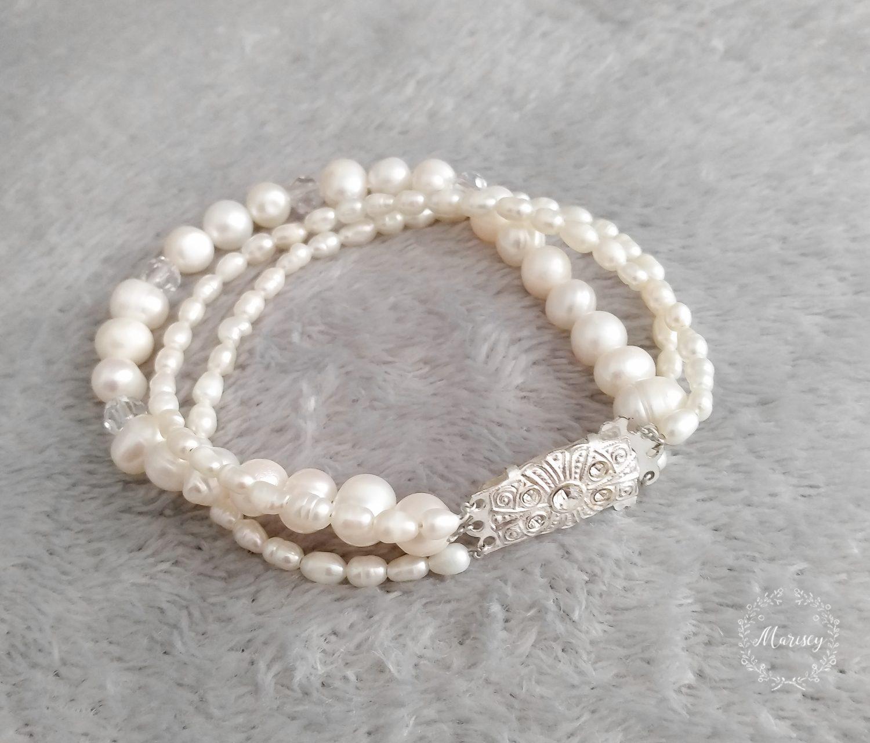bransoletka perłowa