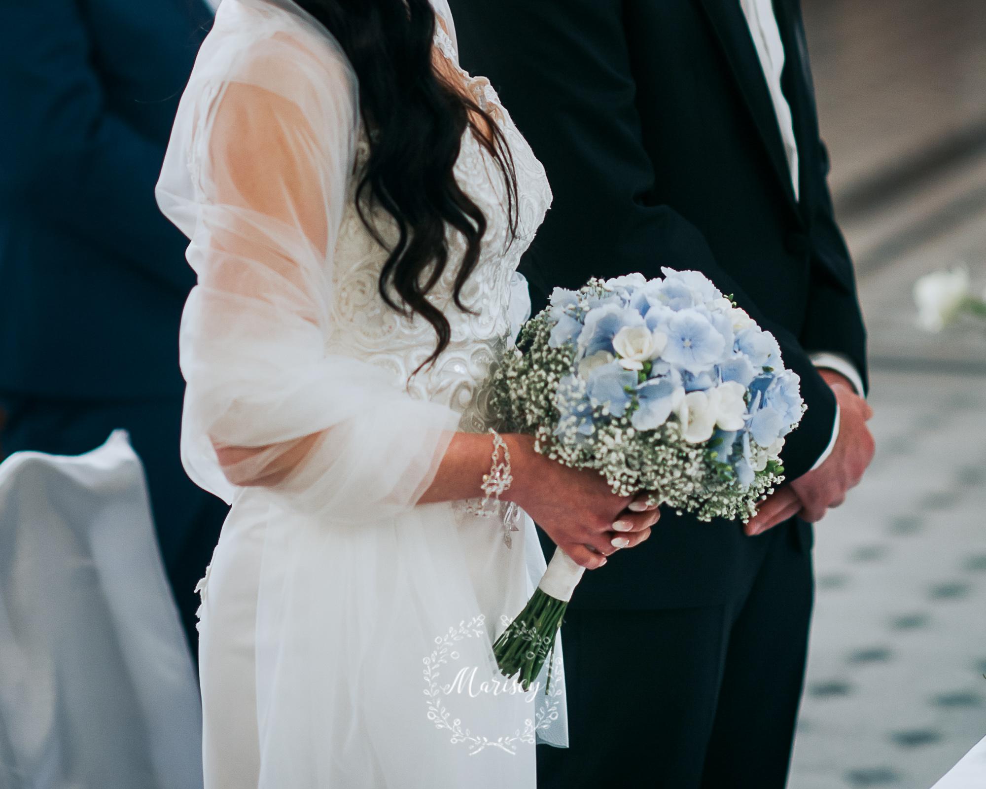 szal ślubny Marisey