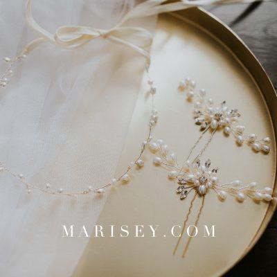 Kolczyki ślubne z kryształkami Swarovski