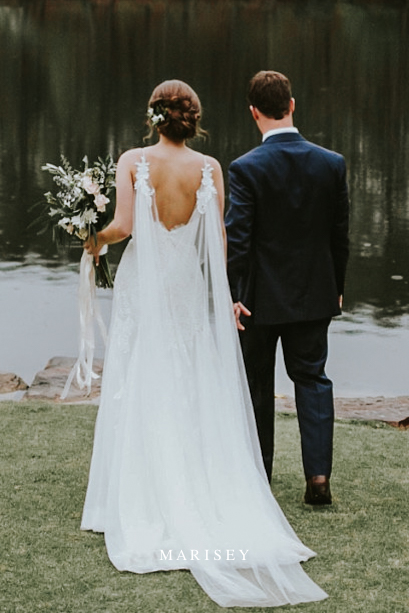 peleryna ślubna welon do sukni