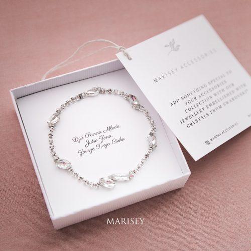 bransoletka prezent dla mamy ślub